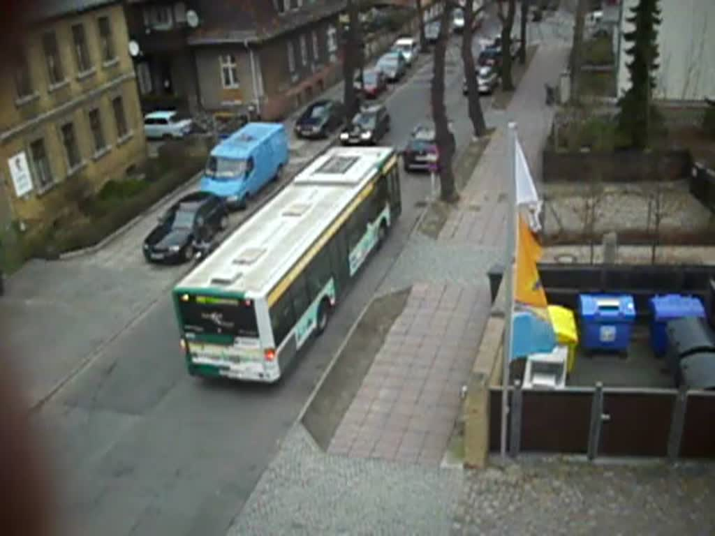 Ein Mercedes Citaro I in Babelsberg am 13.03.2012
