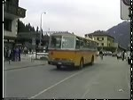 Postbus in Klosters Anfang der 1990er Jahre.